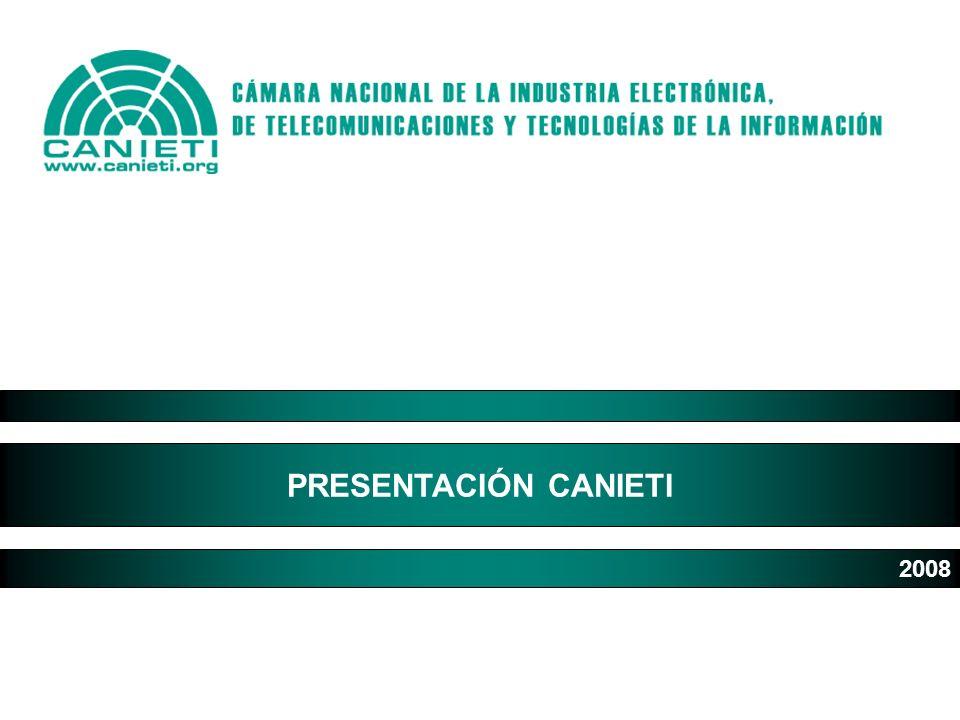 PRESENTACIÓN CANIETI 2008