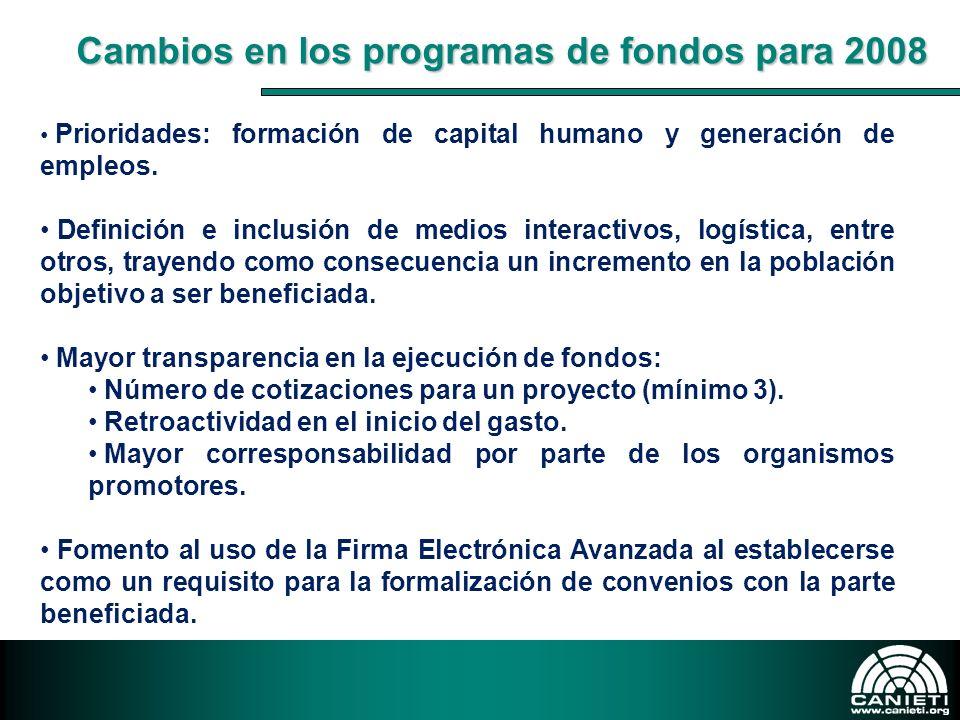 Prioridades: formación de capital humano y generación de empleos. Definición e inclusión de medios interactivos, logística, entre otros, trayendo como