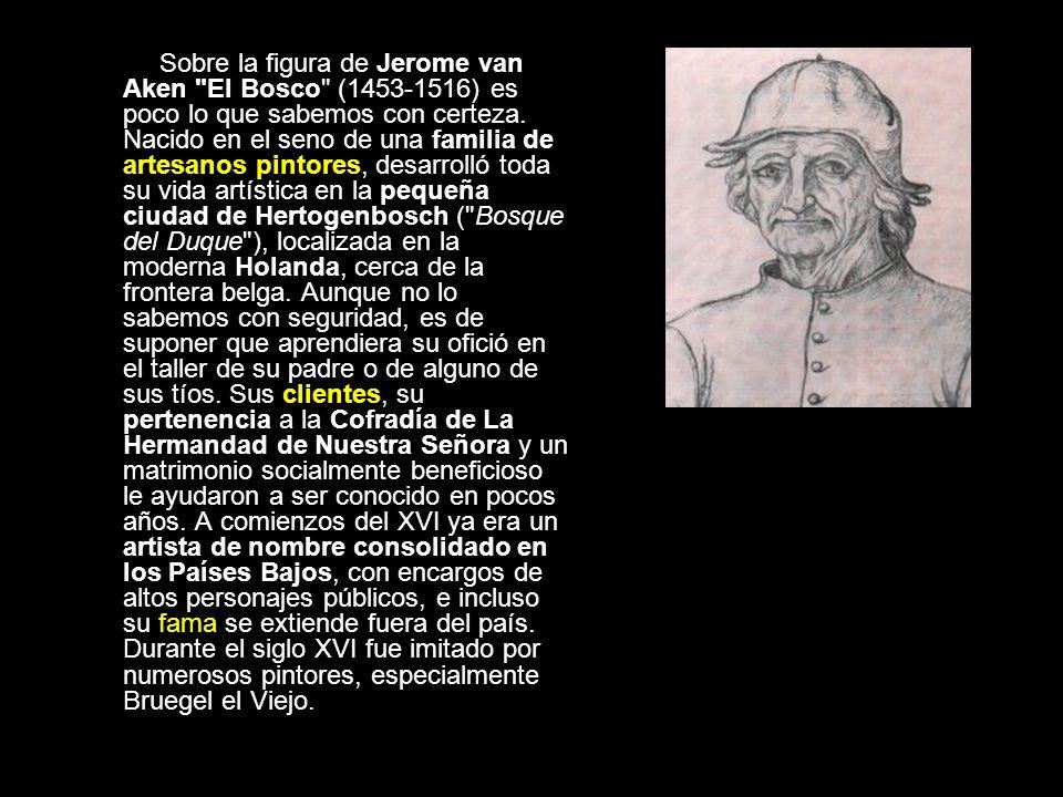 Sobre la figura de Jerome van Aken