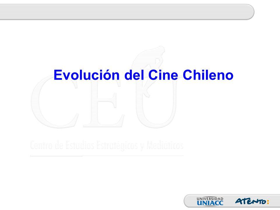 Comparación entre el Cine Chileno y Extranjero La primera mención general es para Una Chilena por Diez Extranjeras, con 46.4% La segunda mención general es para Una Chilena por Cinco Extranjera, con 25.9% Comparación veces que ve películas Chilenas con Extranjeras - General