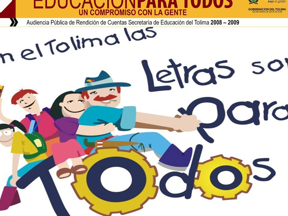 PROGRAMA NACIONAL DE ALFABETIZACION Y EDUCACION BASICA Y MEDIA DE JOVENES Y ADULTOS – Metodología Cafam.