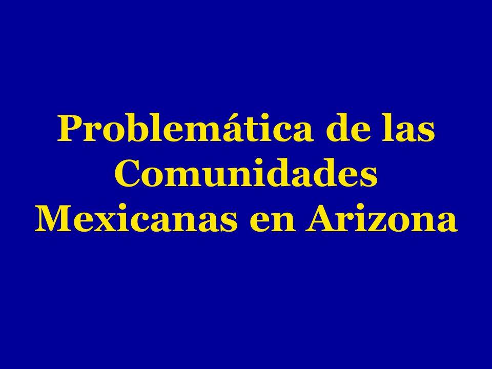 Leyes de corte anti-inmigrante en el estado de Arizona Visita al H.