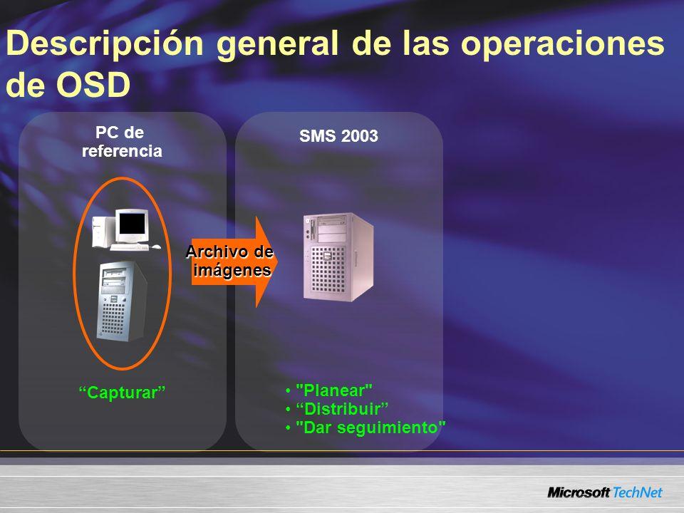 SMS 2003 PC de referencia Capturar Archivo de imágenes