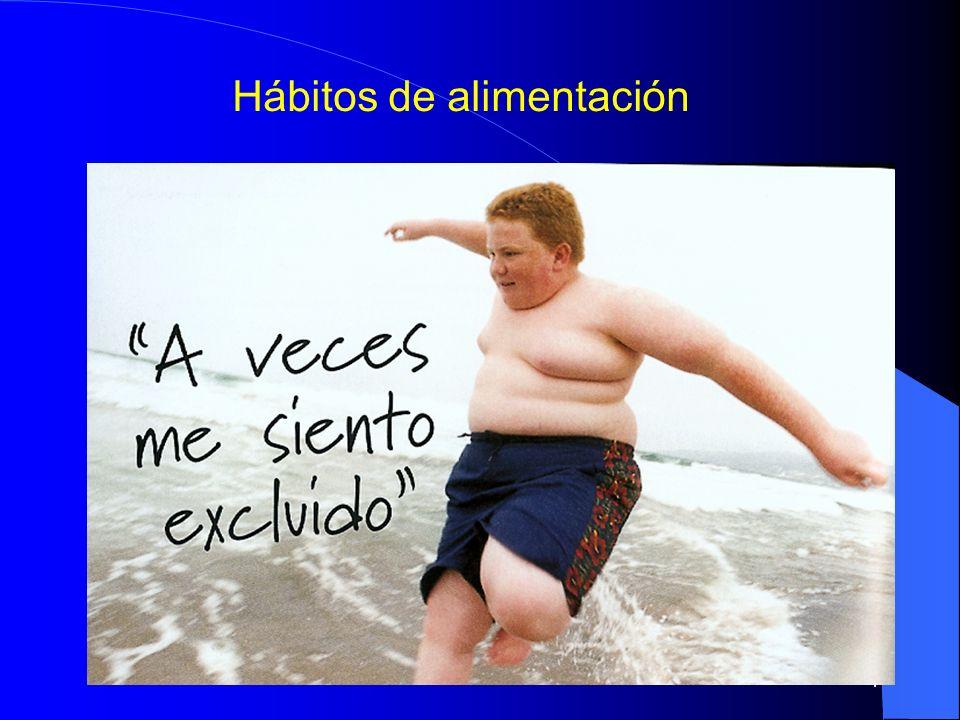 5 Sobrepeso y obesidad Incremento de la proporción de niños obesos y con sobrepeso.