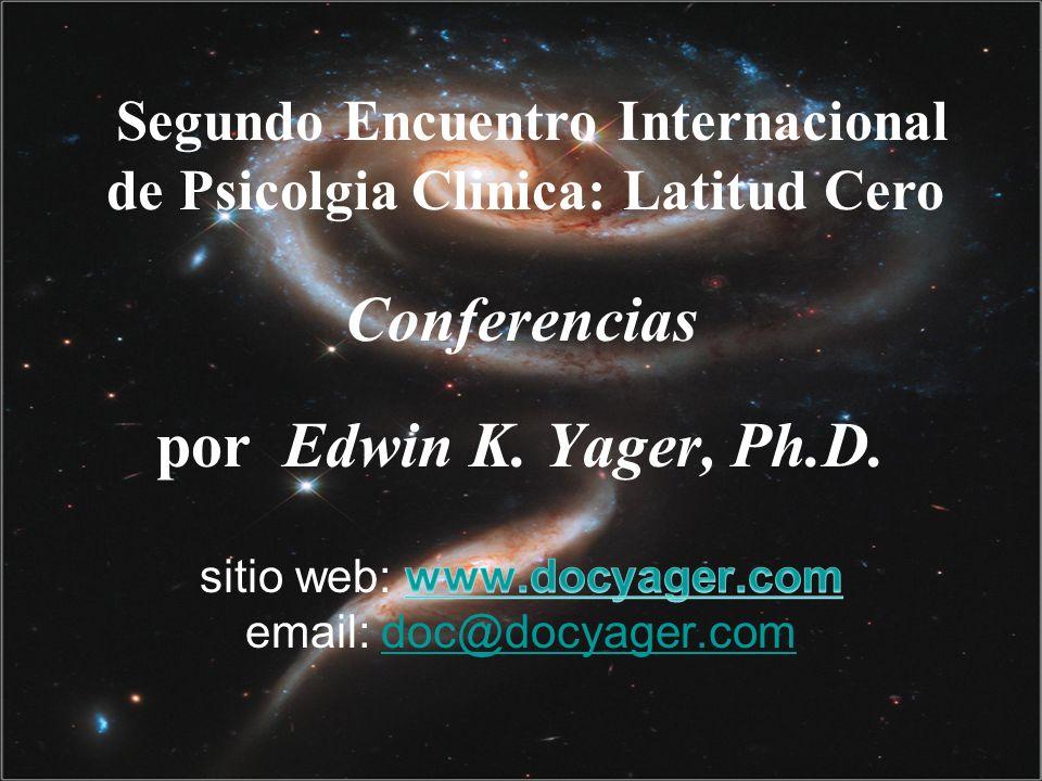 Segundo Encuentro Internacional de Psicolgia Clinica: Latitud Cero