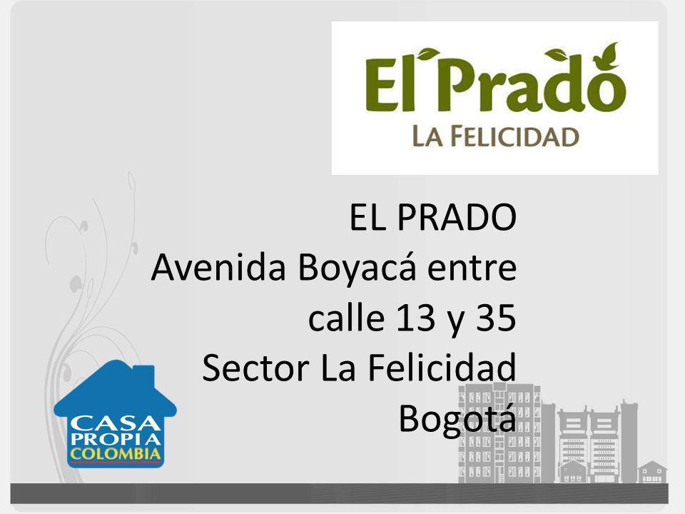 EL PRADO Avenida Boyacá entre calle 13 y 35 Sector La Felicidad Bogotá
