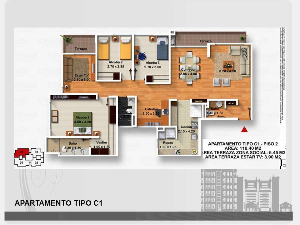 APARTAMENTO TIPO C1