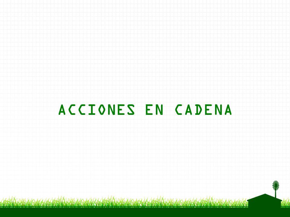 ACCIONES EN CADENA