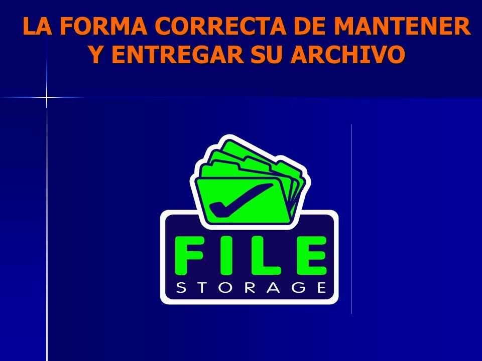 GUIA DE ARCHIVO PASIVO ENTREGADO POR: Nombre de la persona que va hacer la entrega de las cajas e guías y su firma.