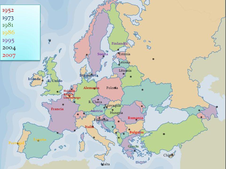 Fondos estructurales Dedicados a corregir los desequilibrios del mercado Ayudar las zonas menos desarrollados a alcanzar la media de la UE.