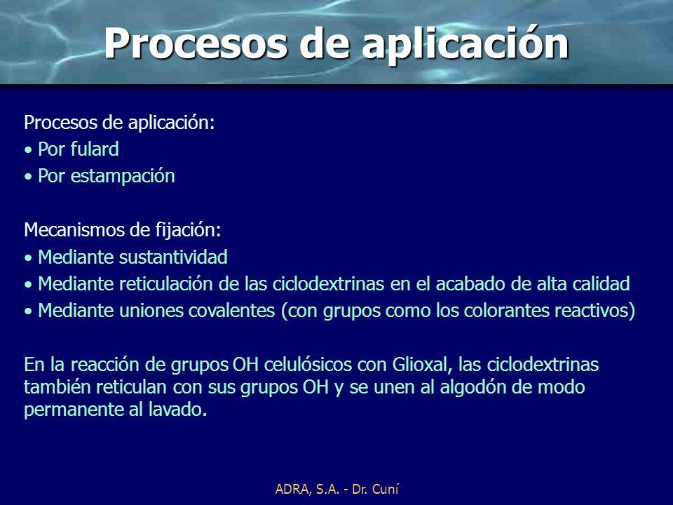 ADRA, S.A. - Dr. Cuní Mecanismo de unión