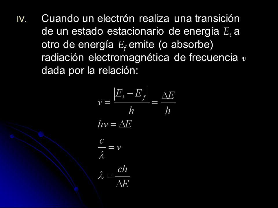 El momento angular : Pero: Para r n : Luego la velocidad: a 0 : radio de Bohr. Corresponde al radio del átomo de H en el estado fundamental a0a0