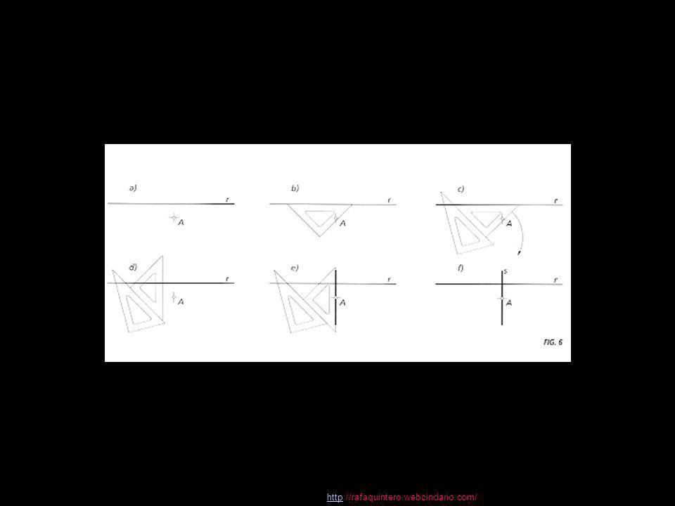 httphttp://rafaquintero.webcindario.com/ 2 Trazados fundamentales en el plano 9 Dibujo Técnico 2.º BACHILLERATO Rectificación de la semicircunferencia y la circunferencia Rectificación de circunferencias Rectificación de una semicircunferencia 1.