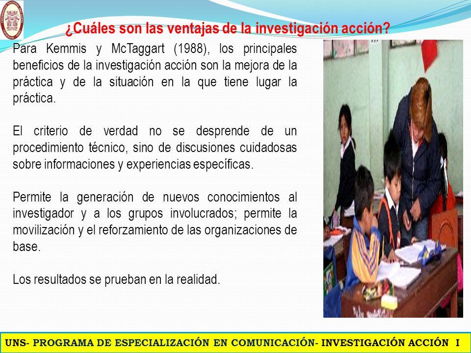 Pereyra (2008), Cáceres, García y Sánchez (2002), Latorre (2003 ¿Cuáles son las características de la investigación acción? Colaborativa Participativa