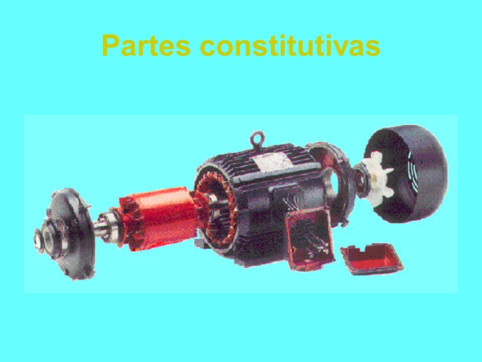 Tabla comparativa Motores de corriente alternaMotores de corriente continua Menor tamaño por HP Más sencillo Más económico Más robusto Menos requerimi