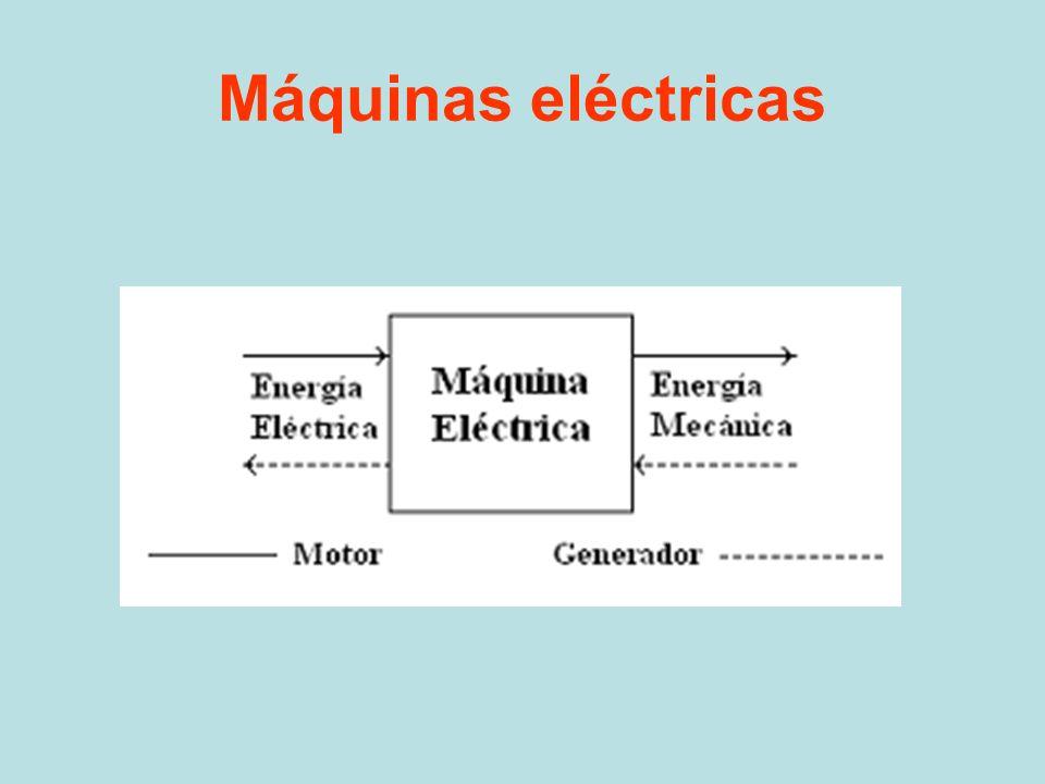 Conversión electromecánica de energía Transductores Actuadores Máquinas eléctricas