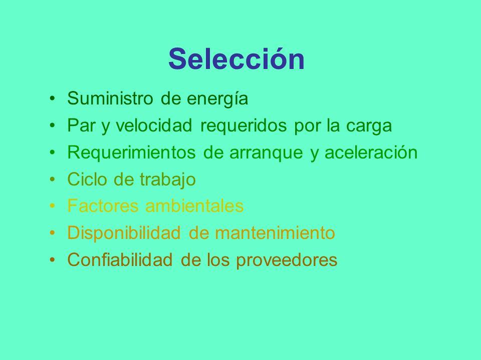Características de funcionamiento