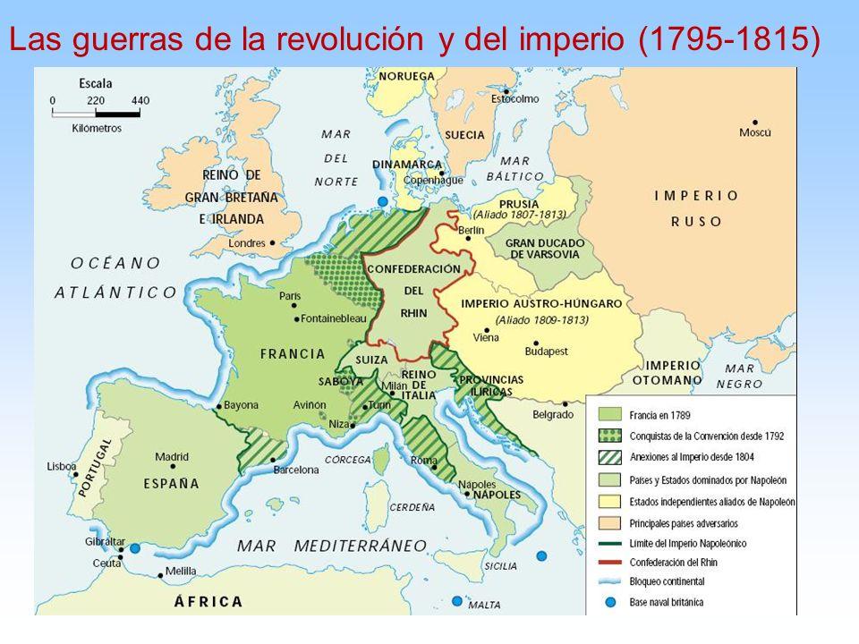 Las guerras de la revolución y del imperio (1795-1815)