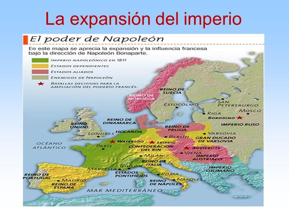 La expansión del imperio