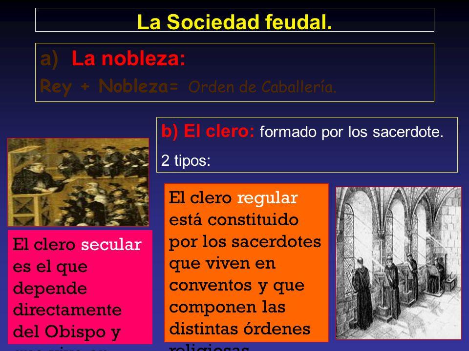 EstamentoDenominaciónFunciónComposición Nobleza los que luchanSu función social era la defensa de la cristiandad, por lo que lo militar era su princip