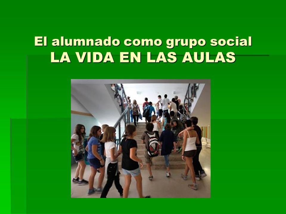 El alumnado como grupo social LA VIDA EN LAS AULAS