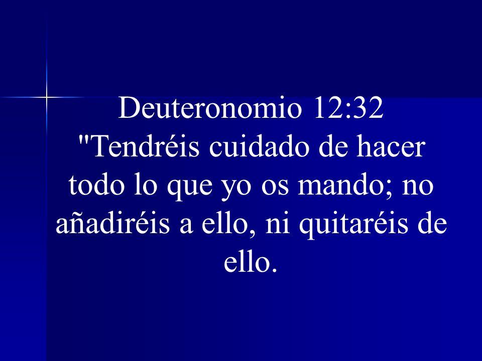 Deuteronomio 12:32