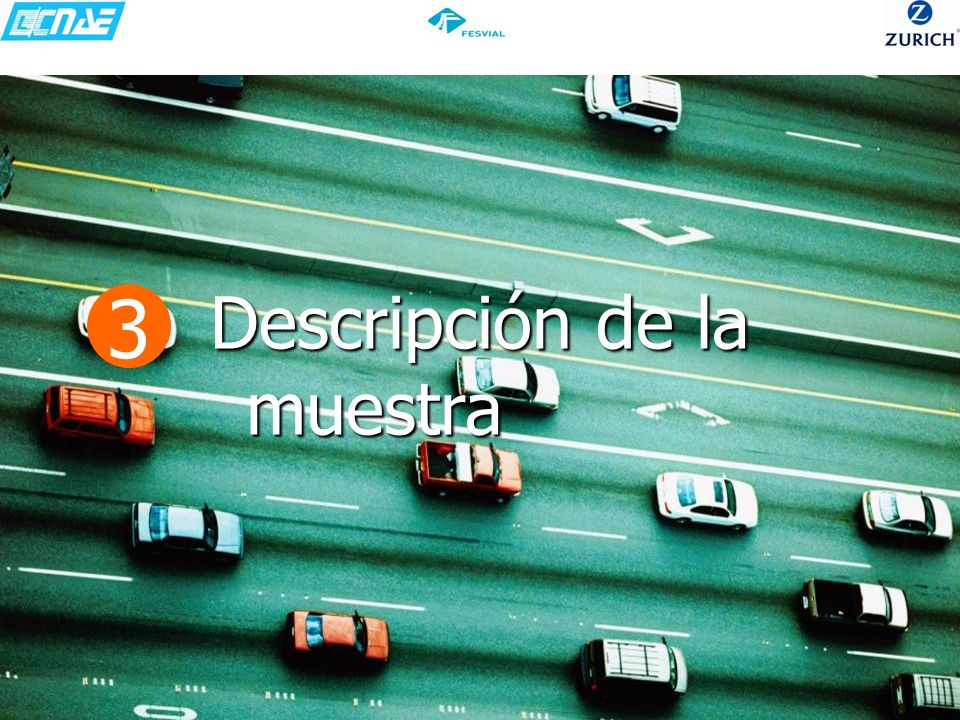 PUNTUACIÓN DADA A LAS SEÑALES DE VELOCIDAD 73,5 % 71,8% 53,3% 52% 39,1% T2B: suma de 4+5 (bastante) Más de 7 de cada 10 conductores piensa que las señales están puestas para evitar accidentes.