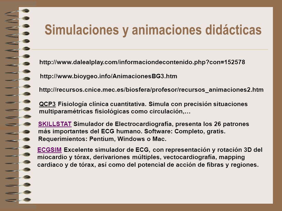 http://www.dalealplay.com/informaciondecontenido.php?con=152578 http://www.bioygeo.info/AnimacionesBG3.htm http://recursos.cnice.mec.es/biosfera/profe