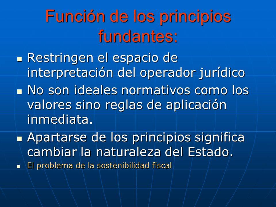 Los Principios Fundantes en la Constitución Colombia es un Estado social de derecho organizado en forma de República unitaria, descentralizada, con au