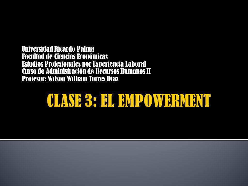 INTERROGACIÓN DIDACTICA 1.¿Qué es el empowerment.2.¿Por qué nace el empowerment.