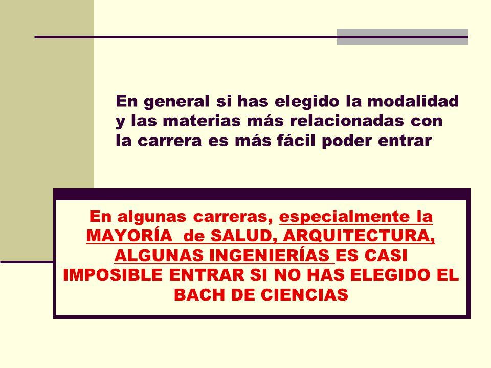 GRADOS QUE TIENEN PRUEBAS ESPECÍFICAS CIENCIAS DEL DEPORTE TRADUCCIÓN E INTERPRETACIÓN http://www.emes.es/AccesoUniversidad/Ba chillerato/Pruebasespec