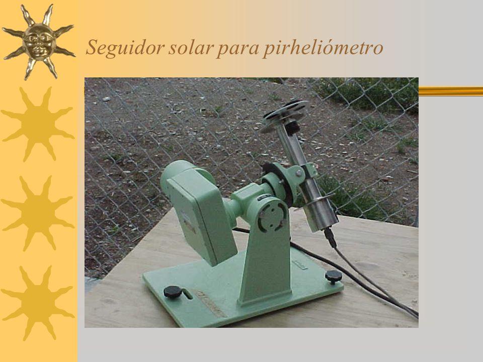 Seguidor solar para pirheliómetro