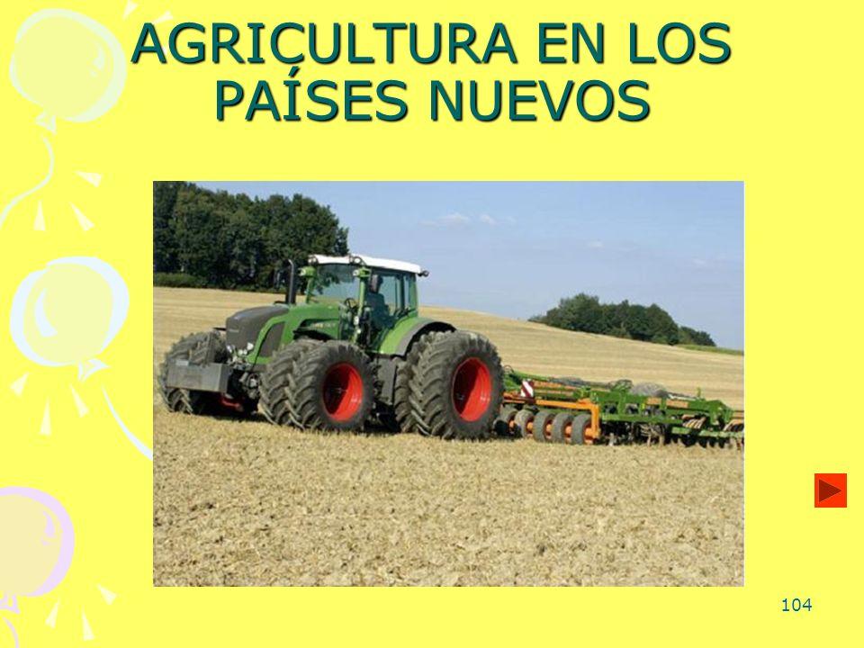 104 AGRICULTURA EN LOS PAÍSES NUEVOS