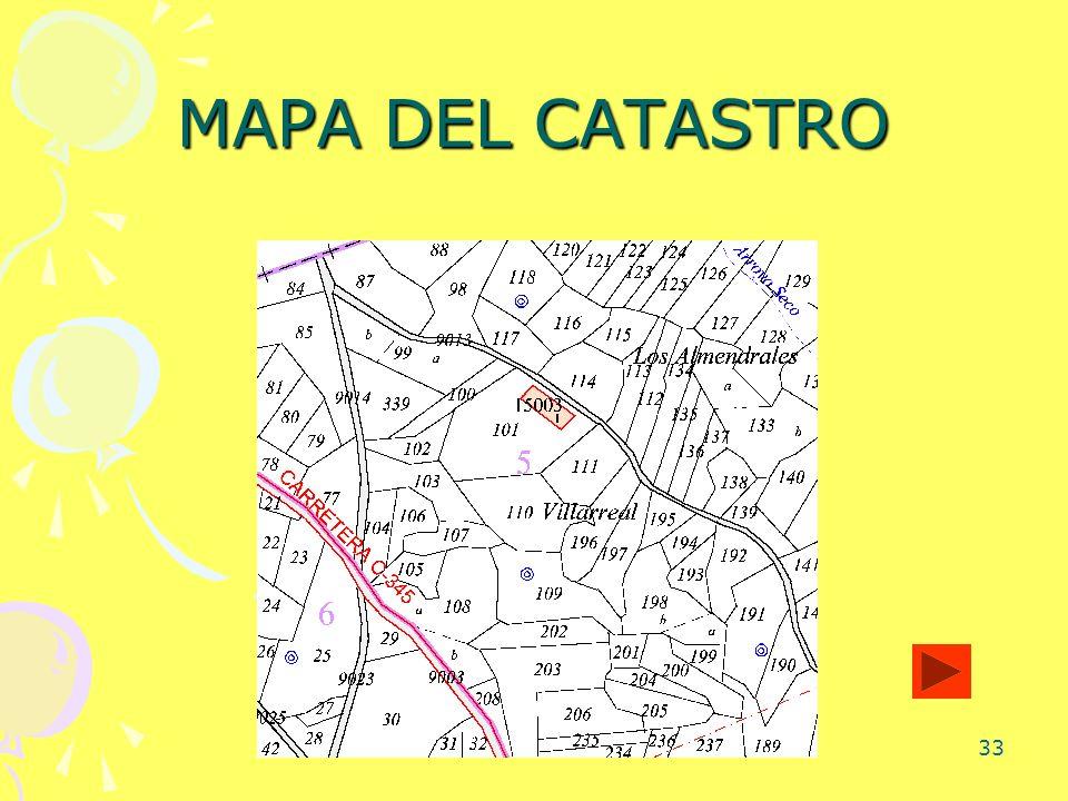 33 MAPA DEL CATASTRO