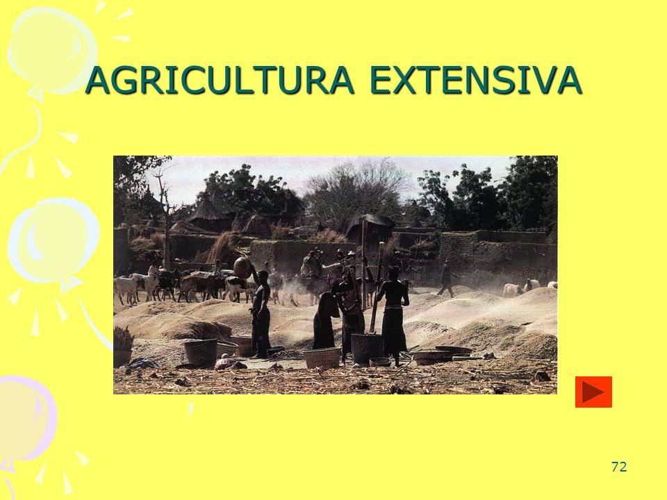 72 AGRICULTURA EXTENSIVA
