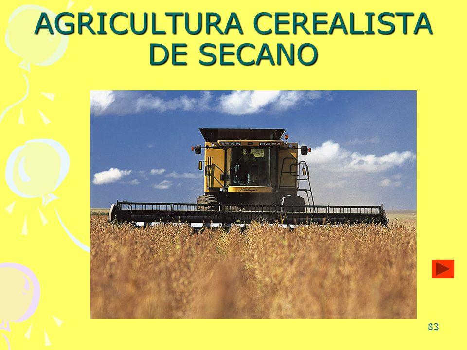83 AGRICULTURA CEREALISTA DE SECANO