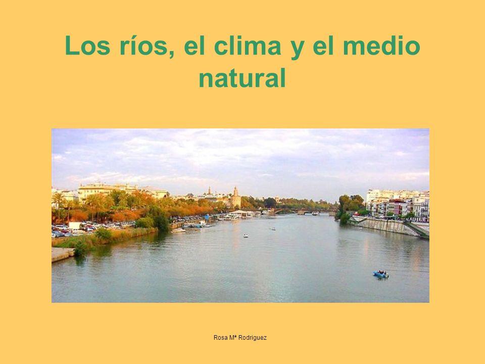 Los ríos, el clima y el medio natural Rosa Mª Rodriguez