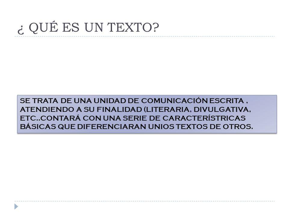 2.2ª.Indique el tema del texto(0,5) Todo texto tiene un sentido, presenta una intencionalidad.