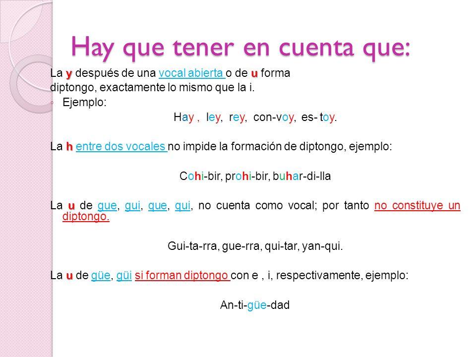 DIPTONGOS EXISTENTES EN LA LENGUA ESPAÑOLA Solo existen 14 diptongos en la lengua española, los cuales son: aieioiiaieioiu aueuouuaueuoui