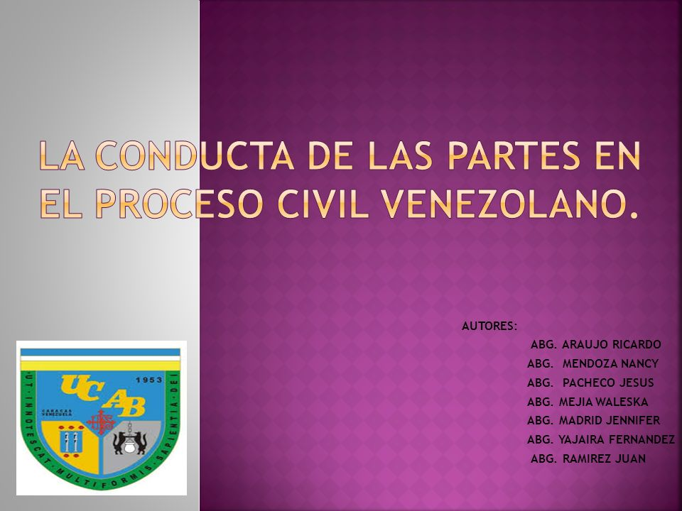 Los artículos17, 170 y 171 del Código de Procedimiento Civil, determinan las directrices y los patrones de conducta que abogados y jueces deben observar en el proceso civil venezolano a los fines de prevenir y sancionar la colusión, el fraude procesal y, en general, cualquier otra conducta a la ética profesional.