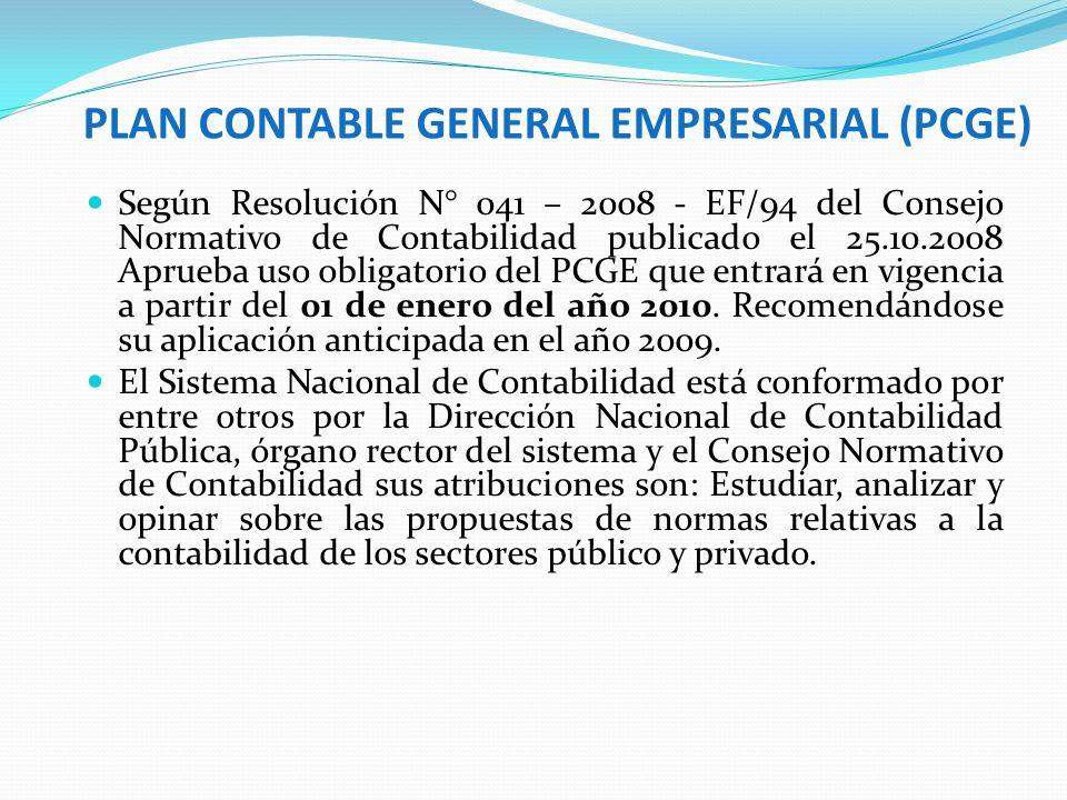 CC Cuentas: Contabilidad Anal. Explotación y de Orden