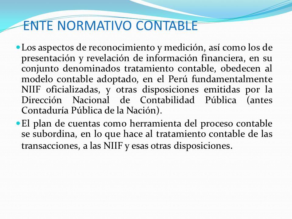 OBJETIVO DEL PCGE Las operaciones que una empresa debe registrar según las actividades que realiza, es de acuerdo con una estructura de códigos que cumpla con el modelo contable oficial en el Perú, que son las NIIF oficializadas en el Perú mediante resoluciones del Consejo Normativo de Contabilidad.