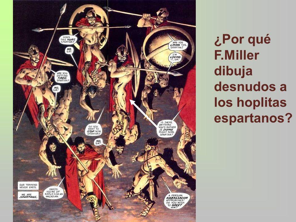 En Homero no hay huella de desnudez, sino que llevan un paño en las competiciones: – E– En los juegos funerarios de Patroclo –U–Ulises con el mendigo Iro Según las fuentes antiguas, la desnudez se inició en la XVª olimpiada (720 a.C): –P–Pausanias (I,44,1): Orsipo de Mégara perdió el paño en la carrera –D–Dioniso de Alicarnaso (Ant.Rom.VII, 72): Acanto de Esparta imitó a Orsipo y corrió desnudo, estableciendo así esta costumbre –T–También lo atribuyen a las comunidades dorias Platón (Rep, 452c) y Tucídides