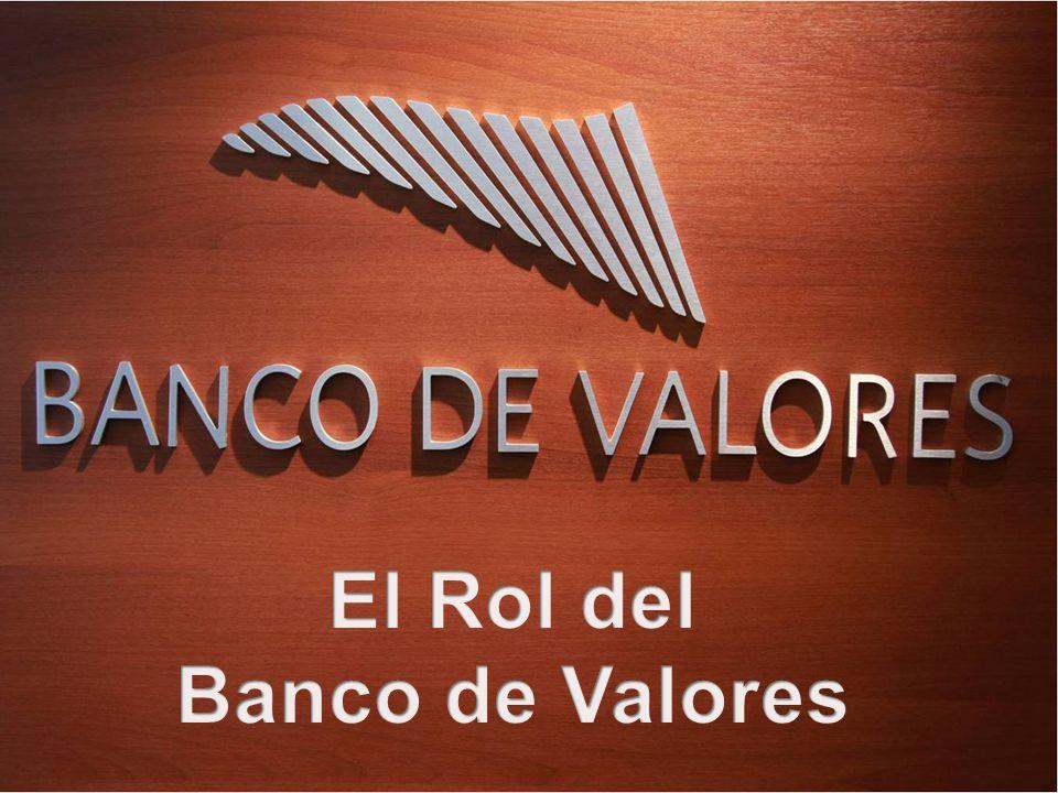 El Banco de Valores fue creado en el año 1978 por su accionista principal el Mercado de Valores de Buenos Aires, acompañado por la Cámara de Agentes y Sociedades de Bolsa.