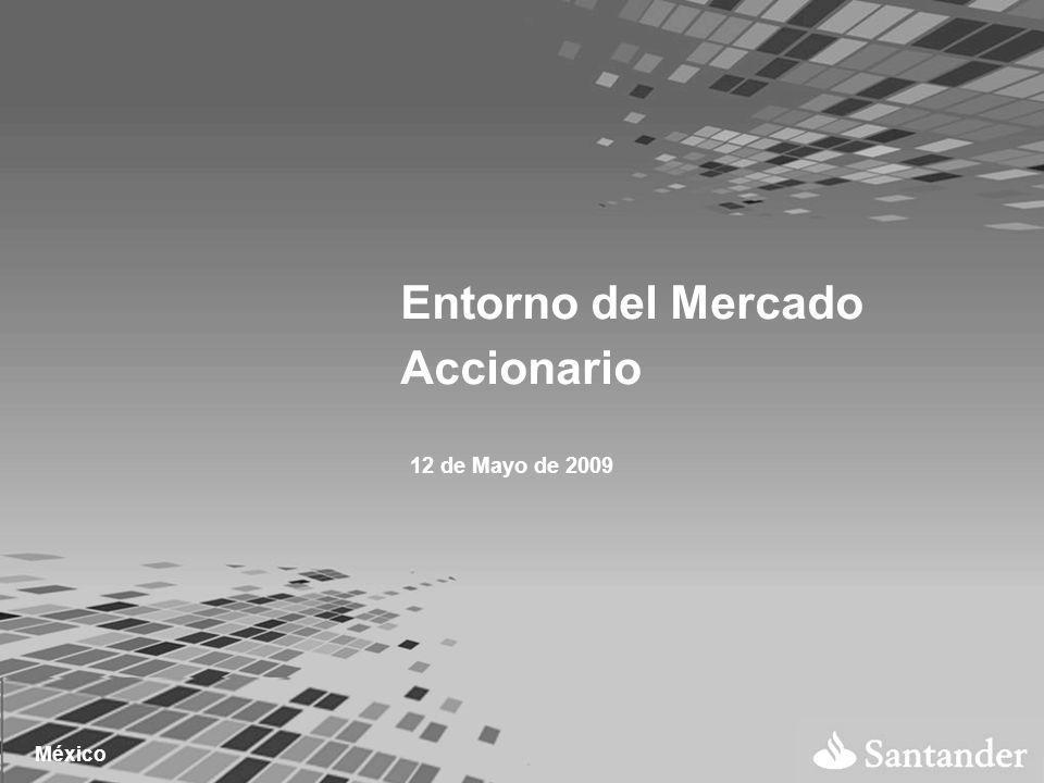 Entorno del Mercado Accionario 12 de Mayo de 2009 México