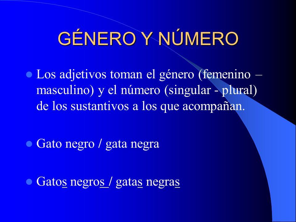 CLASIFICACIÓN DE LOS ADJETIVOS CALIFICATIVO CALIFICATIVO Especificativos (Cualidad innecesaria) Explicativos (cualidad necesaria) DETERMINATIVO DETERMINATIVO Demostrativos Posesivos Indefinidos Numerales