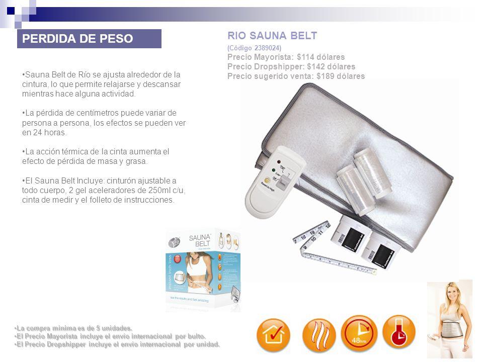 Sauna Belt de Río se ajusta alrededor de la cintura, lo que permite relajarse y descansar mientras hace alguna actividad. La pérdida de centímetros pu