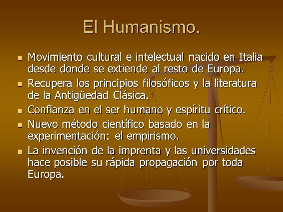 El siglo XVI. Humanismo y Reforma