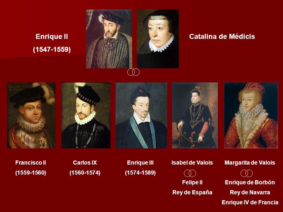 Las guerras de religión en Francia La matanza de la noche de San Bartolomé (24-10-1572)