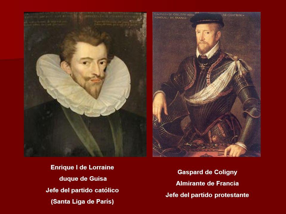 Catalina de MédicisEnrique II (1547-1559) Francisco II (1559-1560) Carlos IX (1560-1574) Enrique III (1574-1589) Isabel de Valois Felipe II Rey de Esp